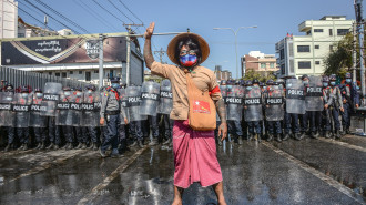 Photos: Myanmar's Streets of Anger