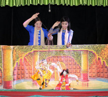 Burma's Puppeteers Put On Cross-Asean Performance