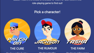 The Name of the (Misinformation) Game? Our Choices