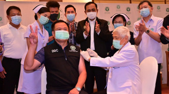 All Eyes on Vaccination Drive in Thailand