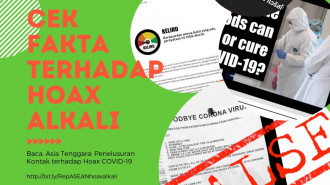 Asia Tenggara: Penelusuran Kontak atas Hoax COVID-19