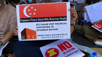 Anger in Myanmar, But Crisis Distant to Singaporeans