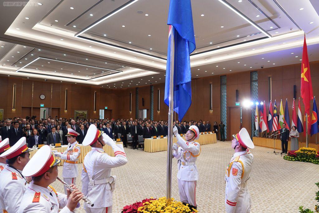 ASEAN FLAG RITE