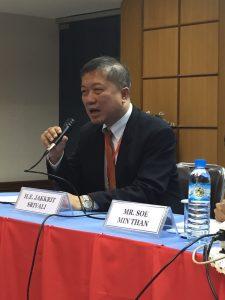 NGOs scare ASEAN officials, says Thailand's Jakkrit Srivali. Picture: Johanna Son