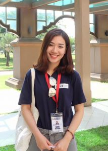 Lan Anh when she was in Malaysia in 2017 Cr