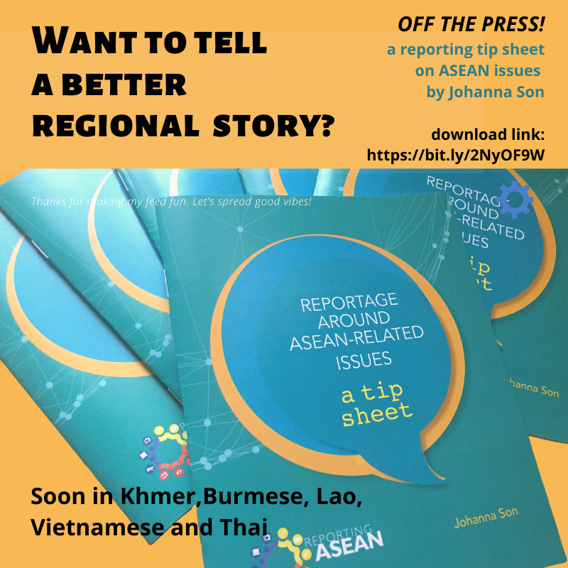 Reportage ASEAN TIp Sheet Social Media Graphic Small