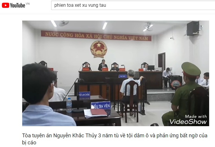 This elderly man was found guilty of sexually abuse baby girls in Vung Tau.